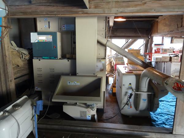 乾燥機&籾摺り機