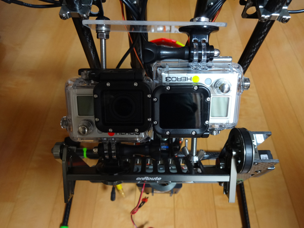 GoPro3近赤外カメラ